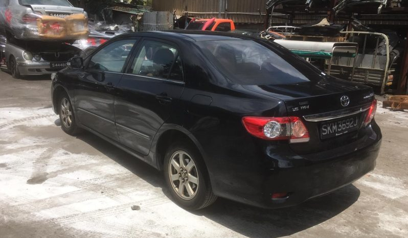 Toyota Altis/Black/2012 full