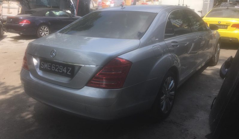 Mercedes Benz S350L/Silver/2008 full
