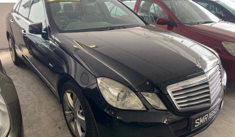 Mercedes Benz E250/Silver/2010 full