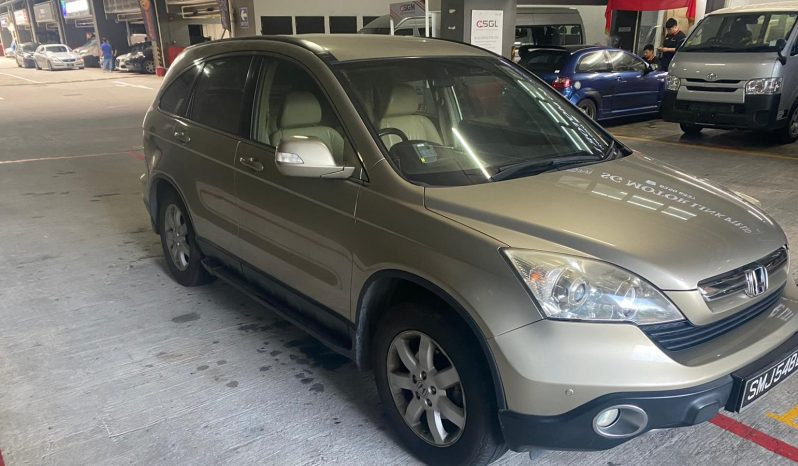 Honda CRV/Gold/2008 full
