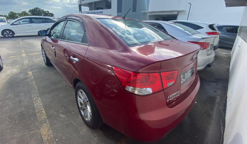 KIA Cerato Forte/Red/2009 full