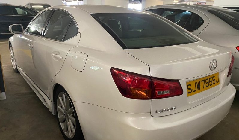 Lexus IS 250/White/2010 full