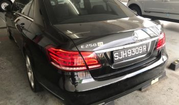 MERCEDES BENZ E250 R18 BLACK 2013 full