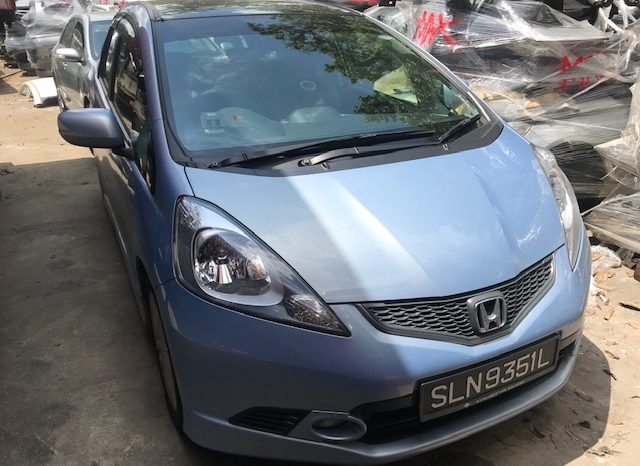 HONDA JAZZ 1.5L BLUE 2011 full