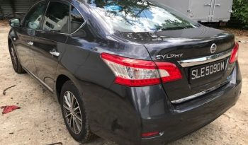 NISSAN SYLPHY 1.6 CVT GREY 2016 full