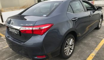 TOYOTA COROLLA ALTIS 1.6 2014 GREY full