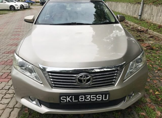 TOYOTA CAMRY 2.5 2015 GOLD full